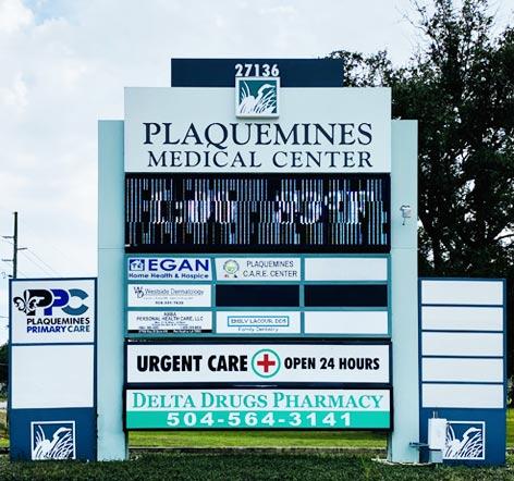plaquemines-medical-center-sign-new